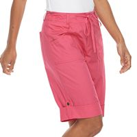 Women's Caribbean Joe Convertible Skimmer Shorts
