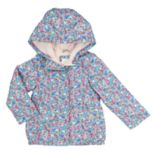 Toddler Girl Carter's Print Midweight Jacket