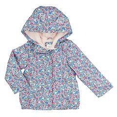 Toddler Girl Carter's Print Midweight Jacket