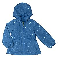 Toddler Girl OshKosh B'gosh® Foiled Hearts Hooded Jacket