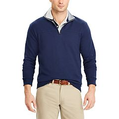 Men's Chaps Classic-Fit Easy-Care Knit Quarter-Zip Pullover