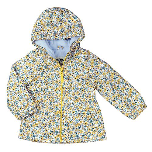 Toddler Girl Carter's Fleece-Lined Midweight Jacket