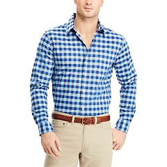 Men's Chaps Classic-Fit Woven Button-Down Shirt