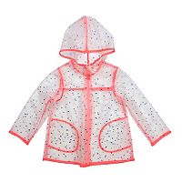 Toddler Girl OshKosh B'gosh® Hooded Lightweight Rain Jacket