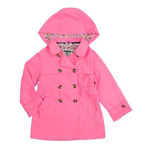 Toddler Girl OshKosh B'gosh® Midweight Trench Coat