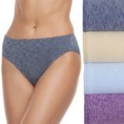Women's Fruit of the Loom 4-pack Ultra Flex Hi-Cut Panties 4DDFHCS