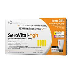 SeroVital-hgh Dietary Supplement with Bonus Day & Night Facial Rejuvenation System