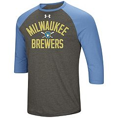 Men's Under Armour Milwaukee Brewers Tee