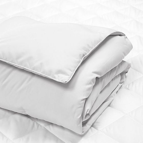 Royal Majesty White Duck Down Throw