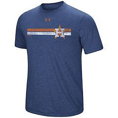 Men's Under Armour  Houston Astros Stripe Graphic Tee