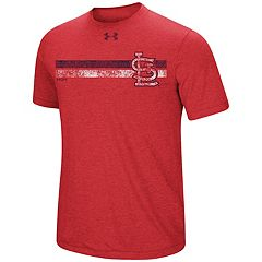 Men's Under Armour St. Louis Cardinals Stripe Tee