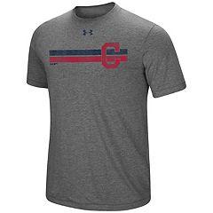 Men's Under Armour Cleveland Indians Stripe Tee