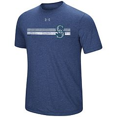 Men's Under Armour  Seattle Mariners Stripe Graphic Tee