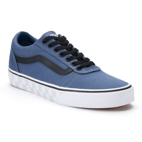 Vans Ward Check Foxing Men's ... Skate Shoes