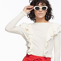 k/lab Ruffled Top