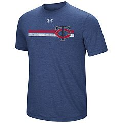 Men's Under Armour Minnesota Twins Heat Gear Stripe Tee