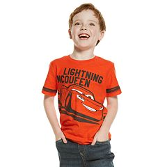 Disney / Pixar Cars Lightning McQueen Boys 4-10 Graphic Tee by Jumping Beans®