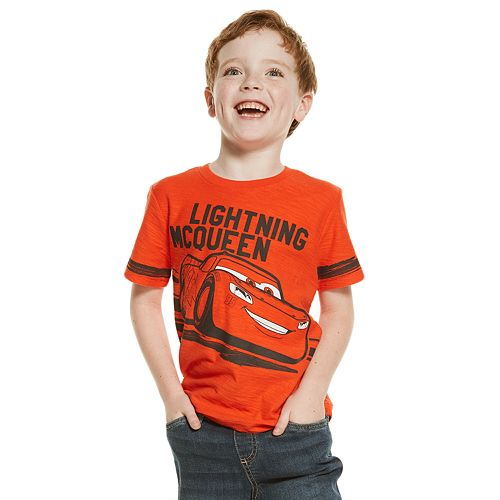 Disney / Pixar's Cars Lightning McQueen Boys 4-10 Graphic Tee by Jumping Beans®