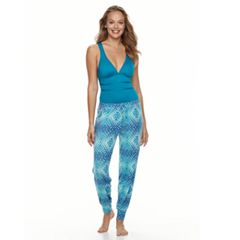 Women's Portocruz Tie-Dyed Jogger Cover-Up Pants