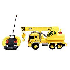 Playtek 1:16 Remote Control Construction Truck Crane