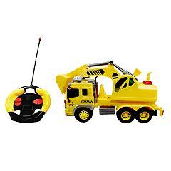 Playtek  1:16 Remote Control Construction Truck Excavator