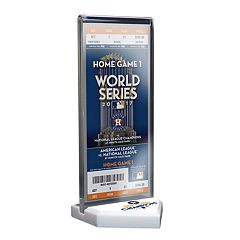 Houston Astros 2017 World Series Champions Commemorative Ticket Display Stand