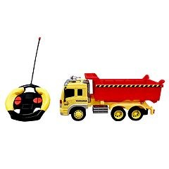 Playtek 1:16 Remote Control Construction Dump Truck