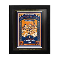 Houston Astros 2017 World Series Champions Sports Propaganda Framed 13