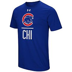 Men's Under Armour Chicago Cubs Slash Tee