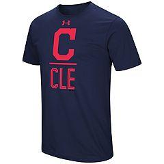 Men's Under Armour Cleveland Indians Slash Tee