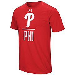 Men's Under Armour Philadelphia Phillies Slash Tee