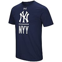 Men's Under Armour New York Yankees Slash Tee