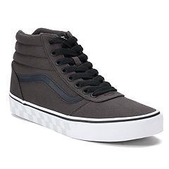 Vans Ward Hi Check Foxing Men's Skate Shoes