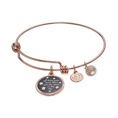 love this life 'Stars In The Sky' Crystal Bangle Bracelet