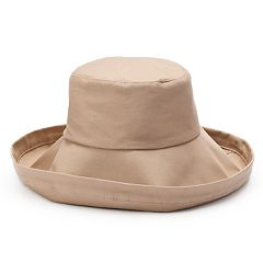 Women's SONOMA Goods for Life™ Solid Folded Brim Bucket Hat