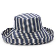 Women's SONOMA Goods for Life? Striped Folded Brim Bucket Hat