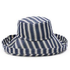Women's SONOMA Goods for Life™ Striped Folded Brim Bucket Hat