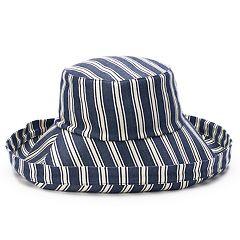 Women's SONOMA Goods for Life™ Striped Folded Brim Bucket Hat