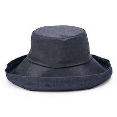 Women's SONOMA Goods for Life™ Denim Folded Brim Bucket Hat