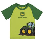 Toddler Boy John Deere Tractor Graphic Tee