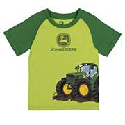 Toddler Boy John Deere Tractor Graphic Tee