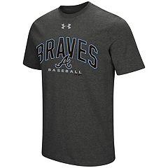 Men's Under Armour Atlanta Braves Reflective Arch Tee
