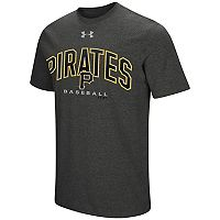 Men's Under Armour Pittsburgh Pirates Reflective Arch Tee
