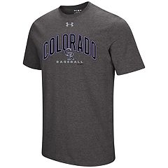 Men's Under Armour Colorado Rockies Reflective Arch Tee
