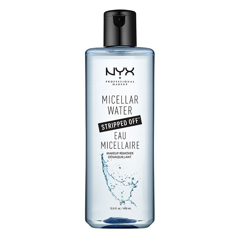 The unique formula of this NYX Professional Makeup Micellar Water Makeup Remover sweeps you away with its luxurious texture and fresh, lively scent. Uses micelle molecules to pick up impurities and makeup from the skin. 13.5 fl. oz. HOW TO USE Apply morning and evening onto damp skin. Lather and rinse. Size: One Size. Color: Multicolor. Gender: female. Age Group: adult.