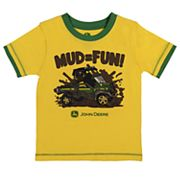 Toddler Boy John Deere 'Mud = Fun' Graphic Tee