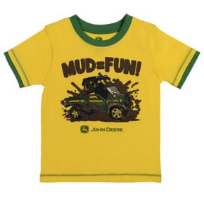 "Toddler Boy John Deere ""Mud = Fun"" Graphic Tee"
