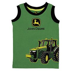 Toddler Boy John Deere Tractor Tank Top