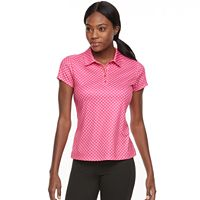 Women's FILA SPORT® Short Sleeve Printed Golf Polo
