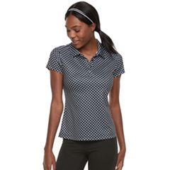 Women's FILA SPORT® Short Sleeve Printed Golf Polo